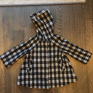 GAP toddler girls swing pea coat